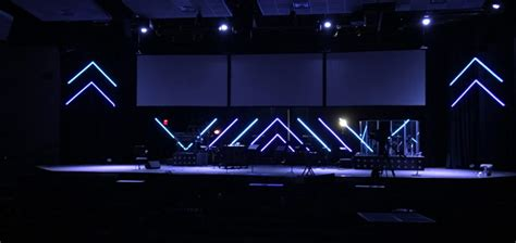 Outdoor Decoration by Led By The Spirit Church Stage Design Ideas
