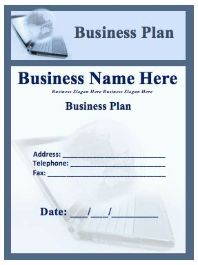 business plan template word business plan template format template