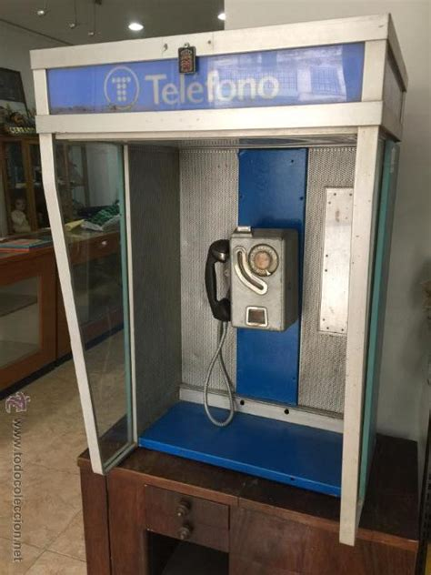 cabina telefonica cabina telefonica con telefono publico a 241 os 70 comprar