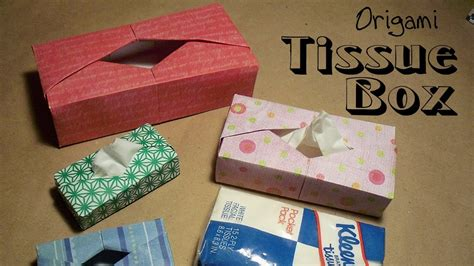 How To Make A Holder Out Of Paper - origami tissue box by paul ee