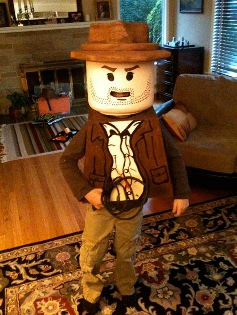 Tutorial Lego Indiana Jones | diy tutorial halloween diy lego indiana jones costume