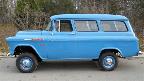 1957 Chevy Suburban By 1957 chevrolet suburban napco k204 1 kissimmee 2017