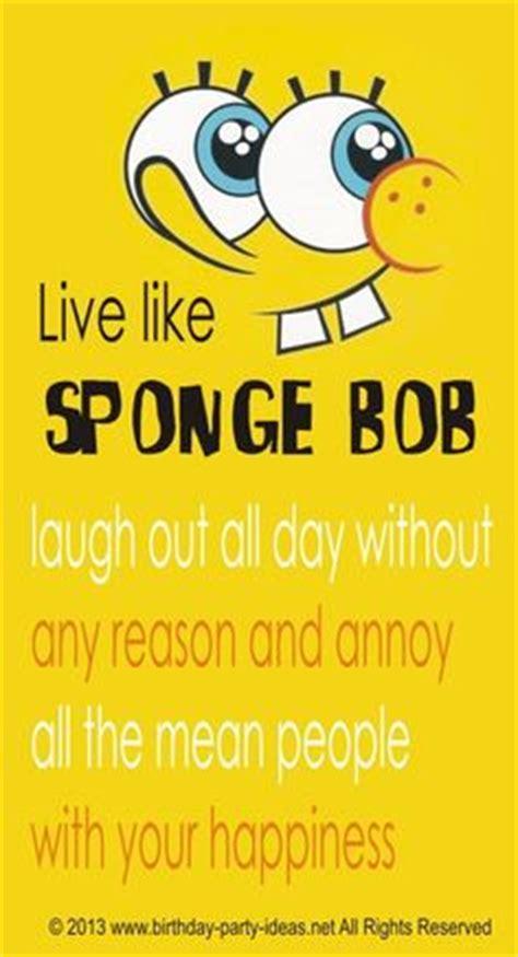 Spongebob Birthday Quotes 1000 Images About Spongebob Birthday Party On Pinterest