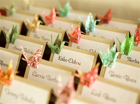 Origami Decorations For Wedding - breathtaking origami decorations for wedding 32 about