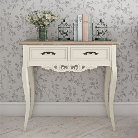 white shabby chic console table shabby chic console table in console table