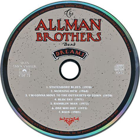 Bros Rabbani Disc 50 cd museum the allman brothers band dreams