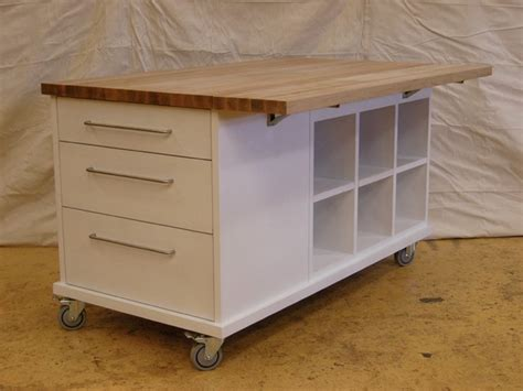 kitchen island carts on wheels ss large table on casters stainless steel kitchen islands