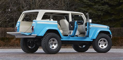 cool jeep interior crazy cool jeep cherokee chief concept jeepfan com