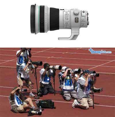 Lensa Canon Warna Putih lensa canon seri l mengapa putih