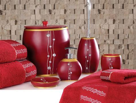 Salle de bain rouge : la couleur de la passion