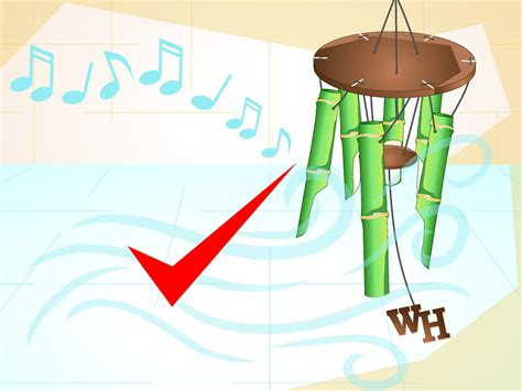 How To Make Paper Out Of Bamboo - how to make a bamboo wind chime with pictures wikihow