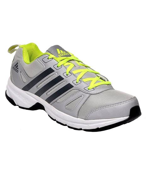adidas grey running sport shoes price in india buy adidas