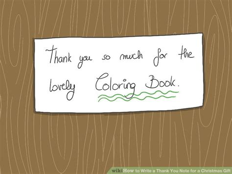 how to write a thank you note for a christmas gift 14 steps