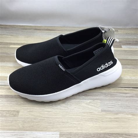 Adidas Neo Slip On Pria Navy Made In 100 Baru 3 adidas shoes neo cloudfoam lite racer slip on poshmark