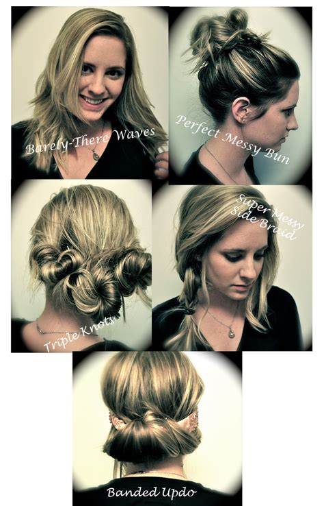 5 easy hairstyles for medium long wavy curly or