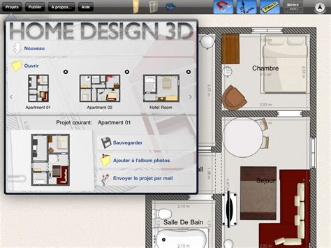 home design software free for ipad home design 3d pour cr 233 er votre projet immobilier sur
