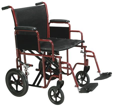 handicap swing chair bariatric transport wheelchair with swing away footrest