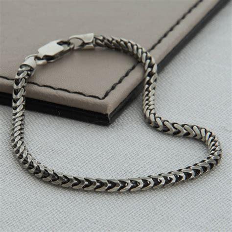 sterling silver men s snake chain necklace hurleyburley