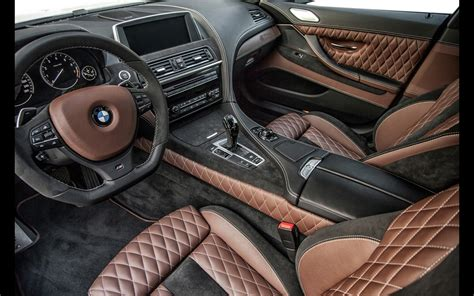 2014 Prior Design BMW M6 Gran Coupe PD6XX Interior 2 1280x800 Wallpaper