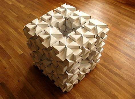 Origami Structures - bloxes modular cardboard building system inhabitat