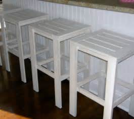 white stools for the bar table for the simple