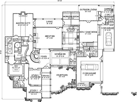 english country house plans english country style house plans 7135 square foot home