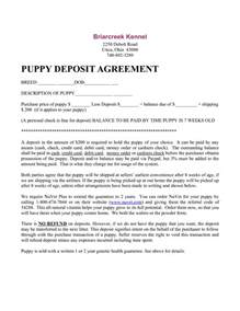 free printable puppy contract dog breeds picture