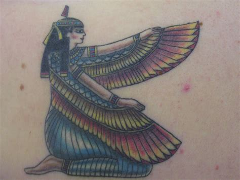 maat tattoo designs tattoos of goddess
