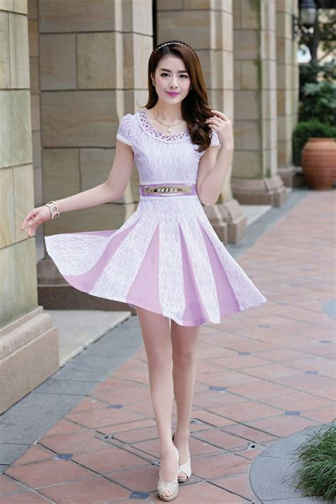 Atasan Korean Style Lace Green Top sleeve dress lace dress waist yrb 0456 asian fashion korean fashion
