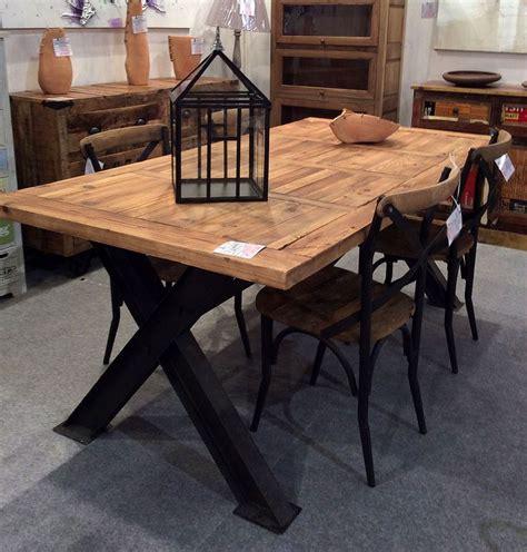 tavolo ferro legno oltre 1000 idee su design tavolo in legno su