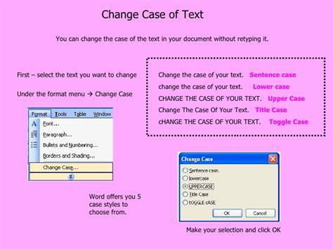 format cd text formatting text