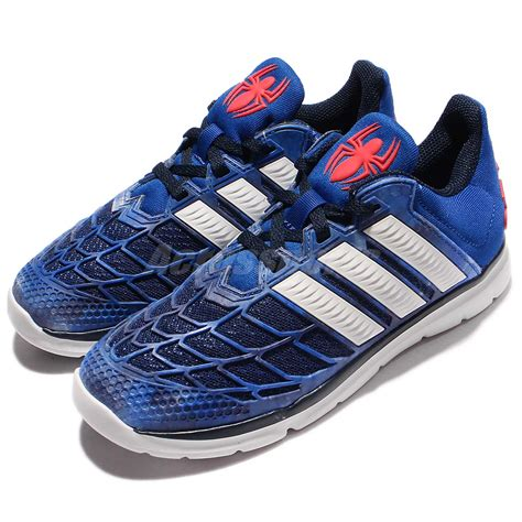 adidas running shoes indonesia adidas marvel spider man k blue red kids junior running