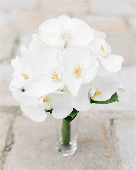 orchid wedding bouquet 16 impressive orchid wedding bouquets martha stewart