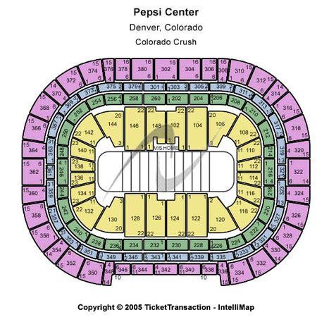 pepsi center floor plan pepsi center tickets in denver colorado pepsi center