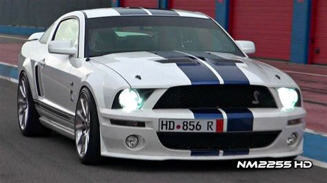 Modified Shelby Mustang Gt500 Insane Sound On Track Youtube