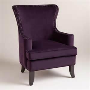 caponata purple elliott chair world market