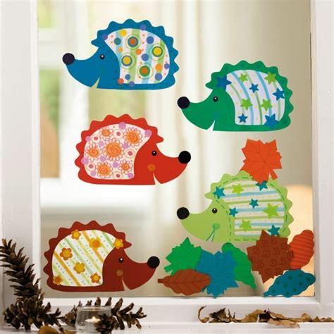 Herbst Fenster Gestalten by Fensterbilder Basteln 64 Diy Ideen F 252 R Stimmungsvolle