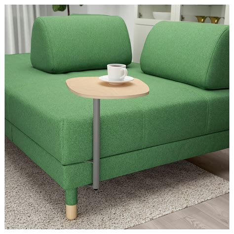 sofa side table ikea flottebo sofa bed with side table lysed green 120 cm ikea