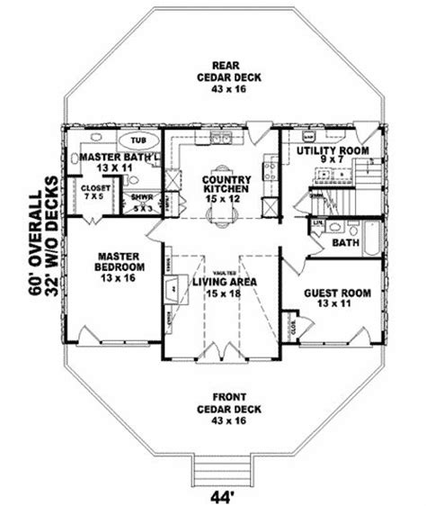 17 Images About House Plans On Pinterest Small Houses Narrow Lot House Plans With Drive Garage
