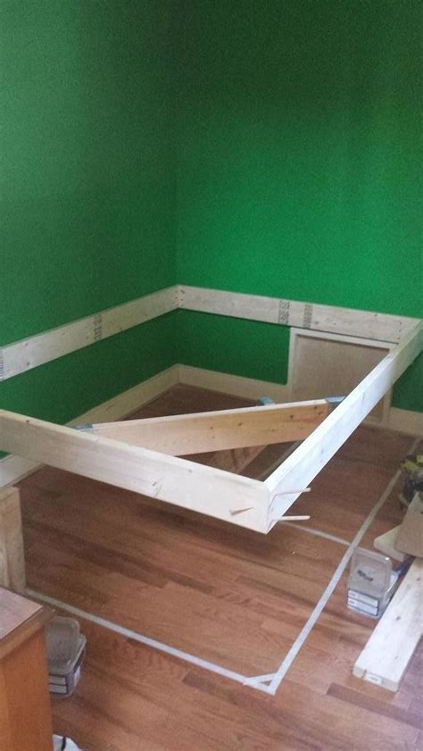 Learn How To Make A Floating Bed Frame With This Diy Floating Bed Frame Diy
