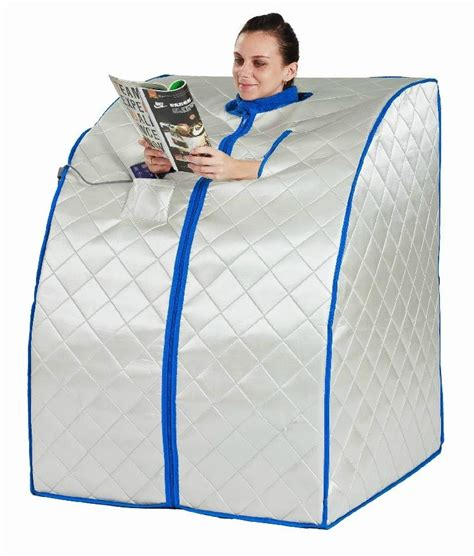 Far Infrared Portable Sauna Negative Ion Detox by Top 5 Best Portable Saunas Reviews Of 2018 Healthier Land