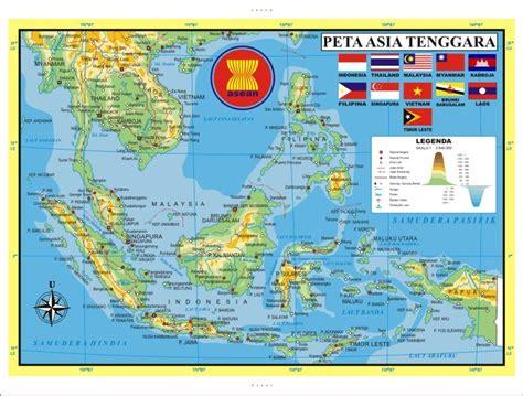 jual file vector peta asean indonesia  lapak aris