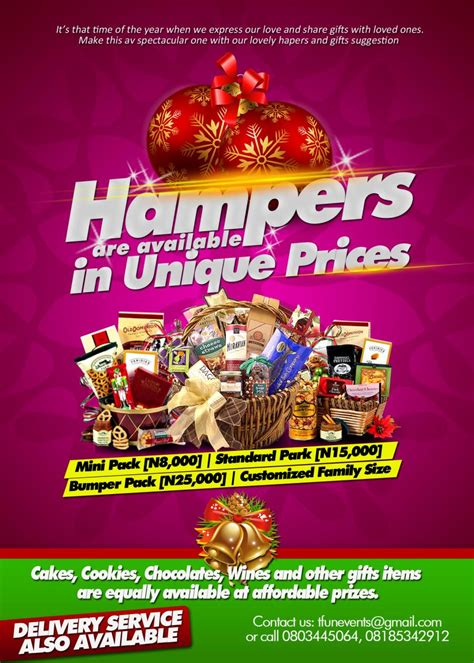 christmas gift hampers family nigeria