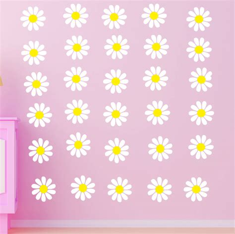 Blossom Tree Wall Stickers daisy wall stickers by parkins interiors