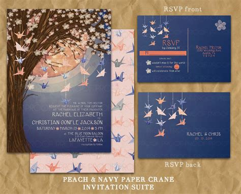 Wedding Invitation Japanese by Japanese Themed Wedding Invitations Www Imgkid The