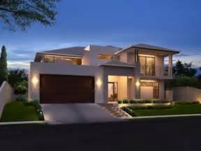 Simple Modern House Exterior » Home Design 2017