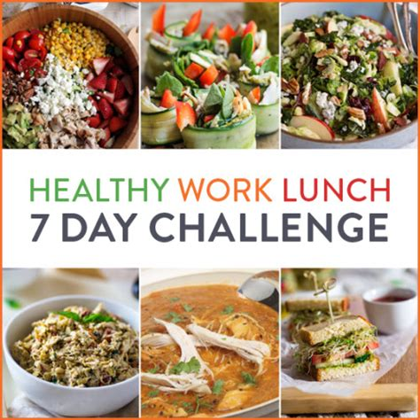pack  healthy work lunch  day challenge