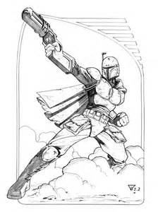boba fett coloring pages free coloring pages of boba fett para colorear