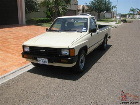 1986 Toyota Truck 1986 Toyota Longbed 37 200 Origianl