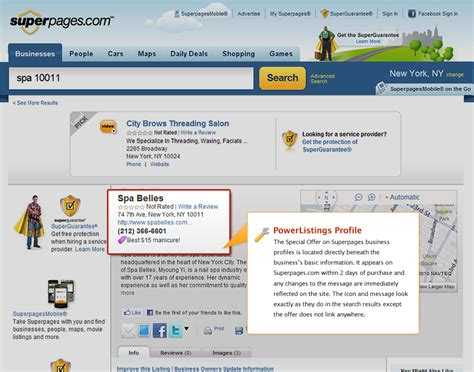 Superpages Lookup Yext Powerlistings Superpages